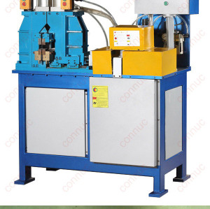 Steel pipe and steel tube resistance flash butt welding machine