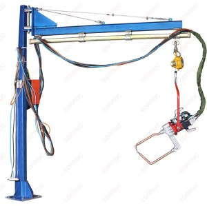Movable  arm spot welding machine, hanging gun spot welder