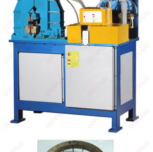 High quality butt resistance welding machine for steel strip round shape like wheel etc.