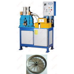 High quality butt resistance welding machine for steel strip round shape like wheel etc.