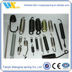 Galvanized Steel Wire Double Hook Tension Spring