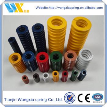 Mould spiral coil compression spring