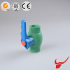PPR pipe fittings /China supplier high quality PPR raw material / plastic PPR ball valve