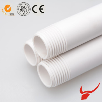 UPVC BS4363 thread plastic pipe for hot water