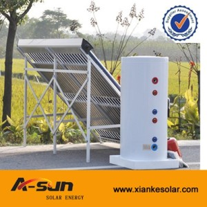 A-SUN Solar Keymark Split and Pressure Solar Water Heater