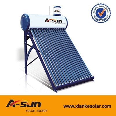 A-SUN 15/18/20/24/30/34/36 Tubes Non-pressure Solar Water Heater With Assistant