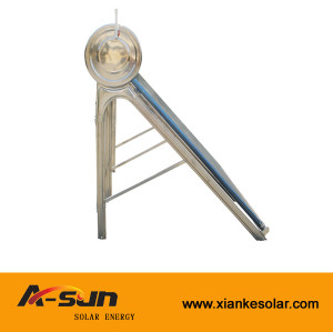 A-SUN high quality non-pressure stainless steel solar water heaters from china manufacturer