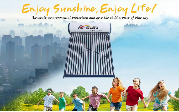 A-SUN solar water heater