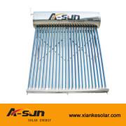 Sistema de calefacción de agua solar activo de circulación natural sin presiónr