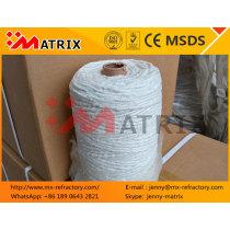 China Refractory 1.5mm 800Tex/2p ceramic yarn products