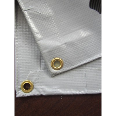 600d White Coated Fabric