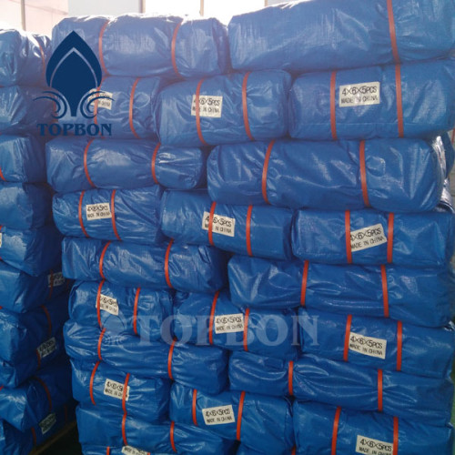 Poly plastic products Chinese supplier Waterproof Insulated PE Tarpaulin TOP155