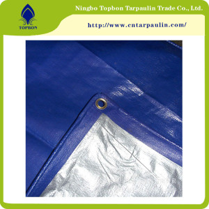 Good quality waterproof plastic tarpaulin sheet/woven fabric pe tarpaulin TOP170