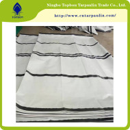 Poly Woven Plastic  Stripes PE tarpaulin United Nations TOP167
