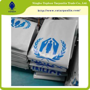 Professional Recreation Equipment pe fine waterproofness Tarpaulin United Nations TOP135