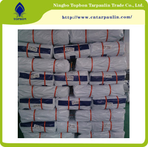 UV treated acid resistant blue poly tarp used for roof cover TB0031