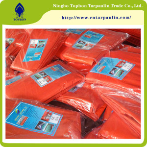 China Supply 220g Plastic Cover PE Tarpaulin TB2231