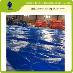 PE tarpaulin with grommets