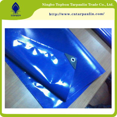 Strong Tearing Strength Flame Retardant PVC Tarpaulin TOP159