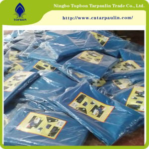 Cheap poly tarp protect cover, HDPE blue tarp for covering  TBN09