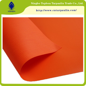 Strong Tearing Strength Flame Retardant PVC Tarpaulin TOP335