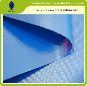 China Factory Waterproof PVC Tarpaulin TOP339