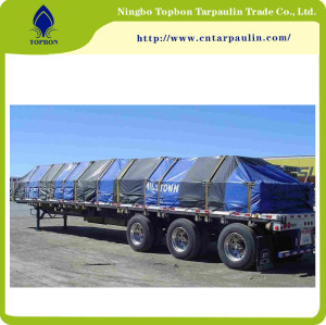 PVC Coated Tarpaulin for Truck Cover and Tents  TOP340