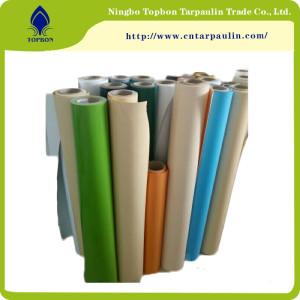 Manufacture Cheap PVC Tarpaulin Roll Stock lot TOP344