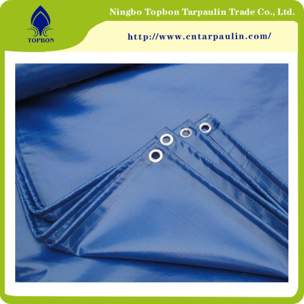 Strong Tearing Strength Flame Retardant PVC Tarpaulin TOP346