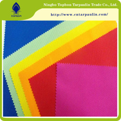 100% Polyester 600d PVC/PU Coated Oxford Fabric For Bag Tent Use TOP146