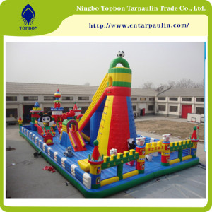 Waterproof Surface PVC Inflatable Tarpaulin TB0072