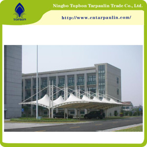 Pvc Coated Scaffolding Mesh Fabric For Construction TB0090