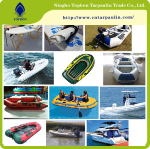 Good quality new pvc coated tarpaulin inflatable boat material TOP121