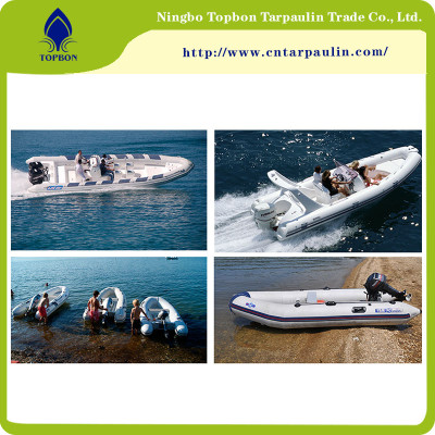 UV Resistant PVC Tarpaulin Inflatable Materials for Water Sports TOP013