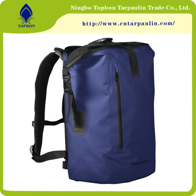 100% Polyester Water-proof Flame- Resistant PVC Coated Tarpaulin for bags TOP019