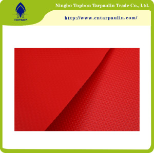 High Quality Waterproof Transparent PVC Mesh Fabric Tarpaulin for Bags TOP020