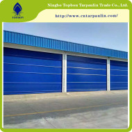 High quality high density pvc fabric used for PVC high speed rolling door TOP033