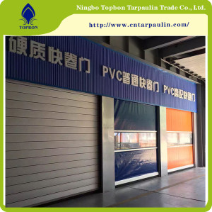 Durable Cheap UV Protection Tarpaulin for Roll up door TOP032