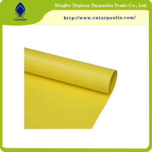 Fire Retardant pvc coated tarpaulin fabric used for roll up door TOP024