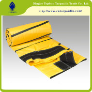 Durable pvc coated tarpaulin fabric for flexible ventilation duct  TOP052