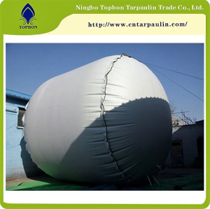 2016 PVC coated fabric for Water & Oil Tank Fabric
