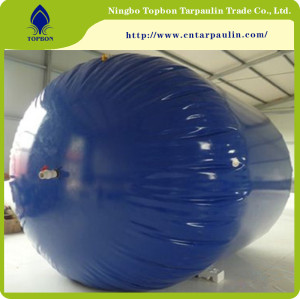 High quality PVC tarpaulin tank for oil and water TOP057