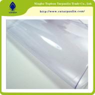 China Soft PVC Roll Super Clear Transparent Plastic Film TOP888