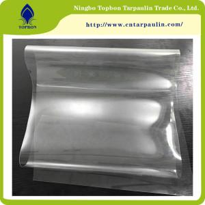 Transparent PVC Rolls Super Clear PVC Soft Film for Cover,Tent TOP890