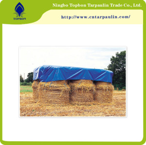 Hay cover HDPE fabric PE Tarpaulin for farming Top996