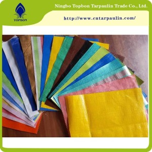 Orange pe tarpaulin sheets, truck cover,camping ground cover canvas