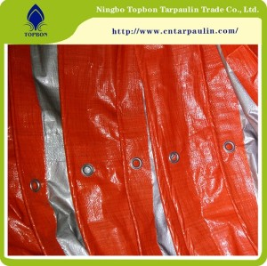 high quality pe Transparent PE Tarpaulin / woven tarpaulin roll transparent from china factory