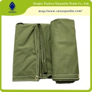 green 20oz canvas tarpauin