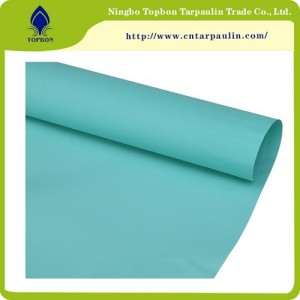 PVC canvas PVC cover goods  Olive tarpaulin