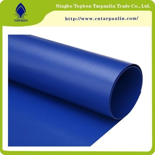 Strong Tearing Strength Flame Retardant PVC Tarpaulin TOP346